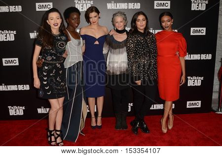 LOS ANGELES - OCT 23:  Walking Dead Ladies at the AMC's Special Edition of