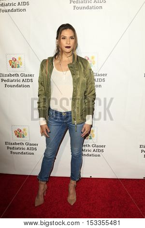 LOS ANGELES - OCT 23:  Allison Holker at the Elizabeth Glaser Pediatric AIDS Foundation A Time For Heroes Event at Smashbox Studios on October 23, 2016 in Culver City, CA