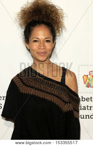 LOS ANGELES - OCT 23:  Sherri Saum at the Elizabeth Glaser Pediatric AIDS Foundation A Time For Heroes Event at Smashbox Studios on October 23, 2016 in Culver City, CA
