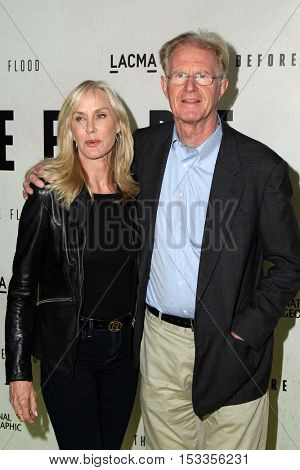 LOS ANGELES - OCT 24:  Rachelle Carson, Ed Begley Jr. at the Screening Of National Geographic Channel's