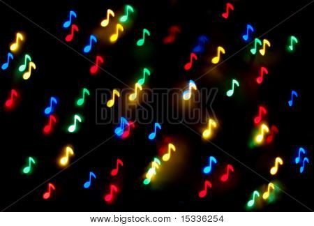 Abstract musical background