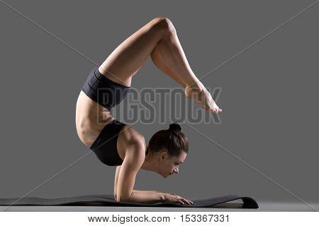 Vrschikasana Yoga Pose
