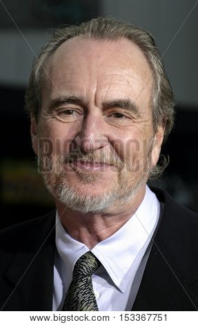 Wes Craven at the Los Angeles premiere of 'Red Eye' held at the Mann Bruin in Westwood, USA on August 4, 2005.