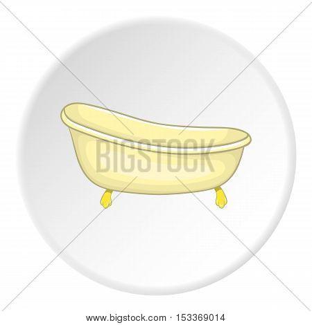 Bathtub icon. Cartoon illustration of bathtub vector icon for web