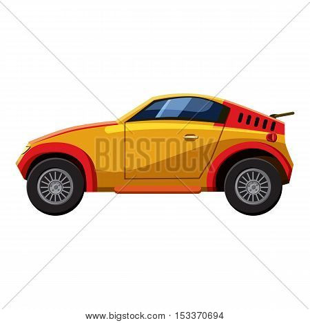 Sport car icon. Isometric 3d illustration of sport car vector icon for web