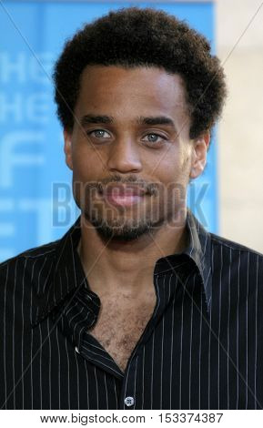 Michael Ealy at the 2005 BET Awards held at the Kodak Theater in Hollywood, USA on June 28, 2005.