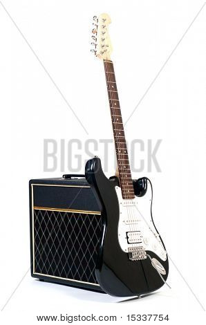 Combo and guitar