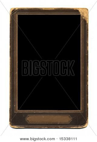 Old-fashioned photo frame