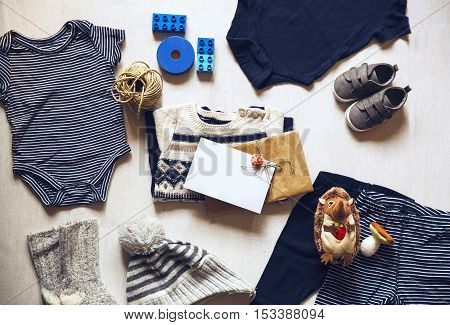 Autumn Or Winter Children's Outfit Clothes.