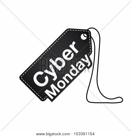 Cyber monday. Cyber monday tag. Cyber monday icon. Cyber monday vector. Cyber monday banner. Cyber monday illustration. Cyber monday image. Cyber monday art. Cyber monday flat. Cyber monday object