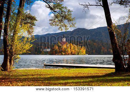 Bled Lake, Slovenia, Europe