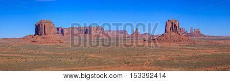 Amazing Daytime Image of Monument Valley Utah