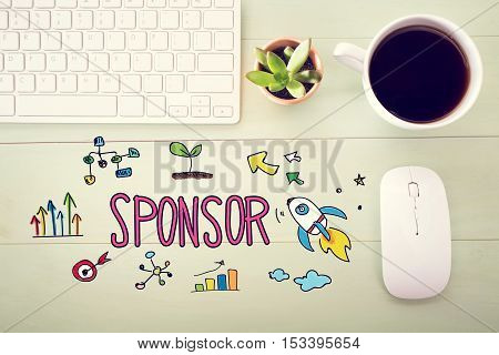 Sponsor Concept With Workstation