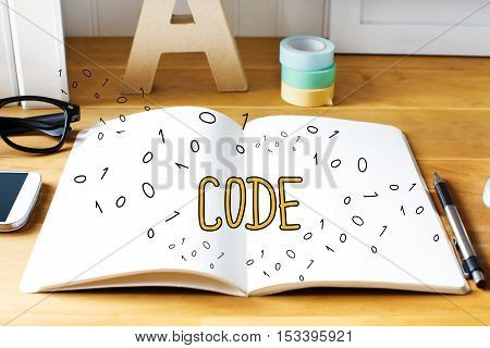 Code Concept With Notebook