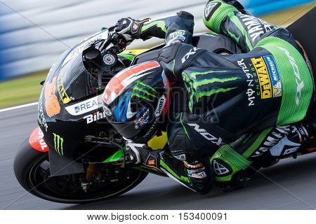 MELBOURNE AUSTRALIA – OCTOBER 23: during the 2016 Michelin Australian Motorcycle Grand Prix at 2106 Michelin Australian Motorcycle Grand Prix Australia on October 23 2016.