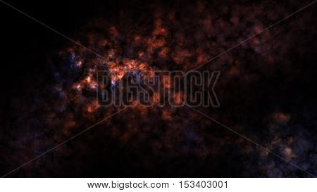 Universe Filled with Star and Nebula, Deep Space, Space and Nebula Background