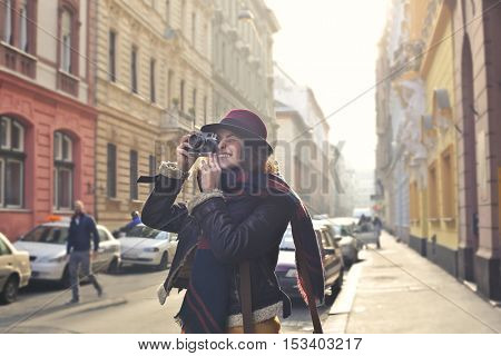 Young photographer