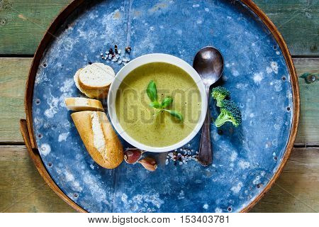 Homemade Green Soup