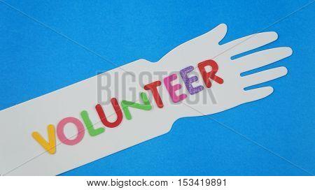 Volunteering concept