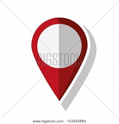 Gps button icon. travel navigation route and location theme. Isolated design. Vector illustration