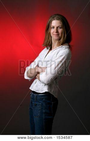 Arms Crossed Woman (Ki)