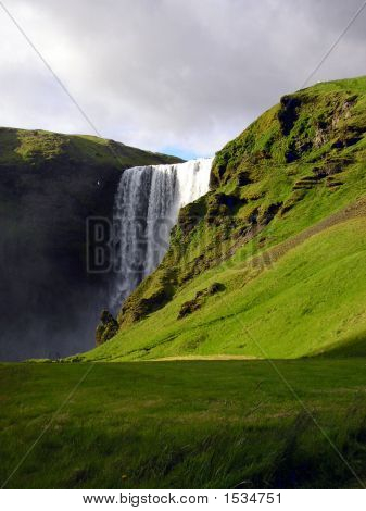 Skogafoss, Liquid Thunder, Iceland