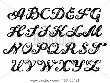 Яблочко vintage calligraphy fonts all