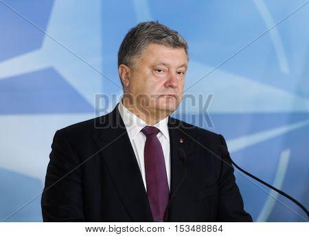 President Of Ukraine Petro Poroshenko