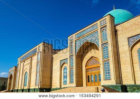 Hazrat Imam Ensemble in Tashkent, the capital of Uzbekistan