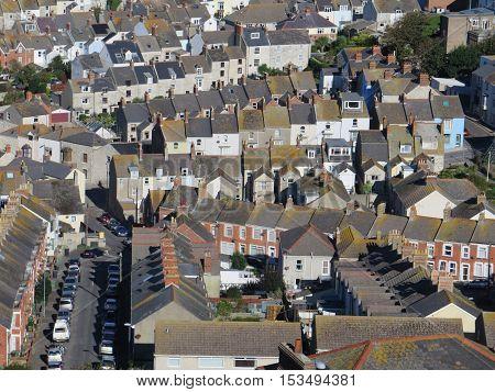 Village Of Chesil In Dorset
