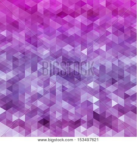 Abstract colorful triangles pattern geometric background - eps10 vector