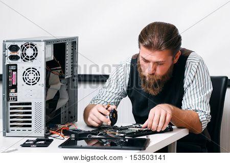 Electronic Repair Development Construction Business Technology Concept