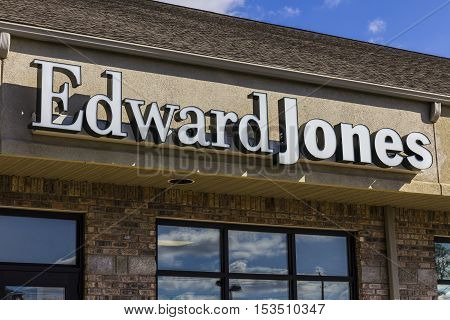 Anderson - Circa October 2016: Edward Jones Consumer Investment and Financial Services Firm Location I