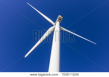 Wind Farm in Central Indiana. Wind and Solar Green Energy areas are becoming very popular in farming communities IV