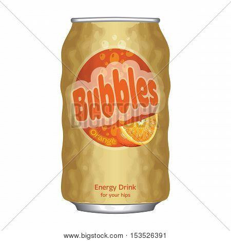 Soda Can Bubbles Cellulite Body Object Orange Skin