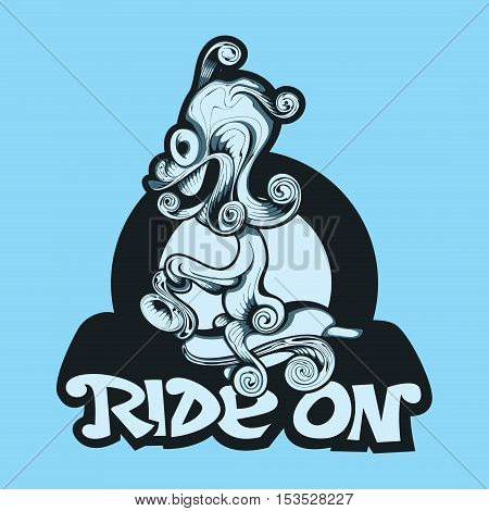 Weird Rider, Art