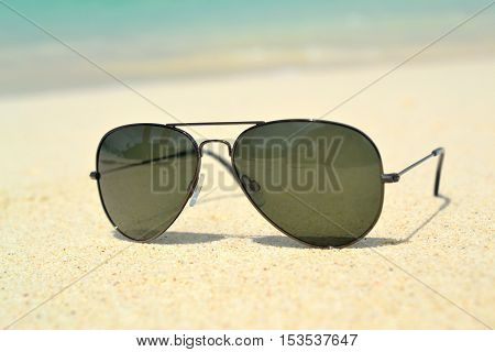 Sunglasses on the beach Karon in Tailand