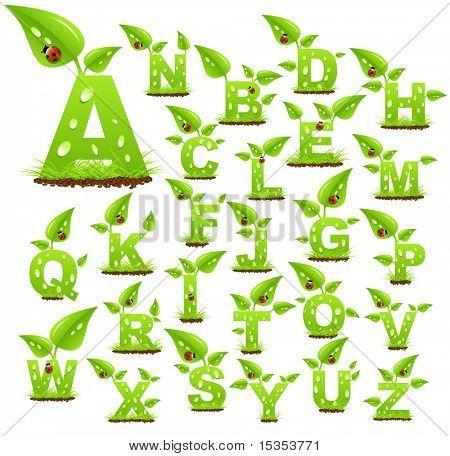 Environmental alphabet