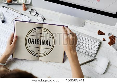 Original Copyright Genuine Patent Brand Graphic Concept