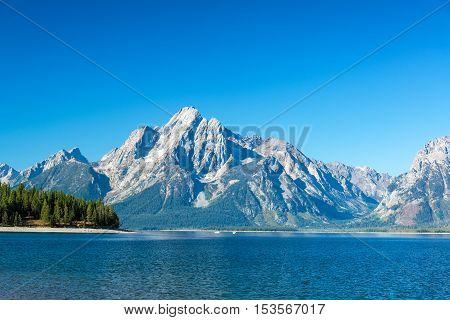 Teton Range View