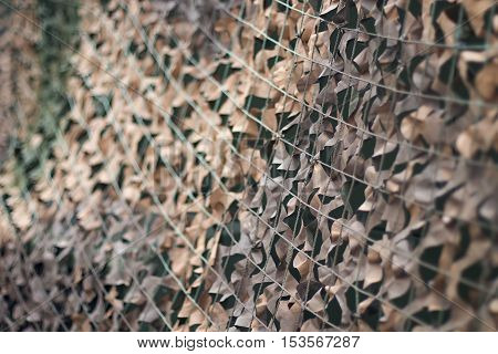 Camouflage Net, Army Camouflage Pattern. Military Camouflage Net.