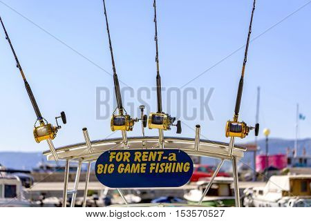 Big Game Fishing Boat And Equipment For Rent