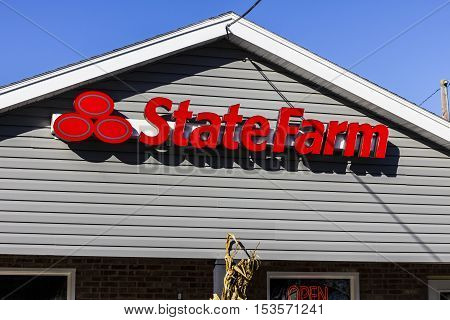 Anderson - Circa October 2016: State Farm Insurance Agent Location. State Farm Offers Insurance and Financial Services II