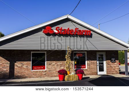 Anderson - Circa October 2016: State Farm Insurance Agent Location. State Farm Offers Insurance and Financial Services III