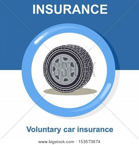 Vector Flat Insurance Icons