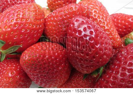 Strawberry Fruit Background