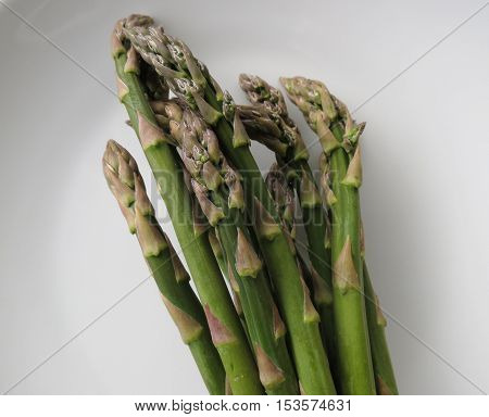 Asparagus Vegetables In A Dish