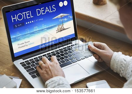 Hotel Deal Accommodation Lodge Motel Inn Concept