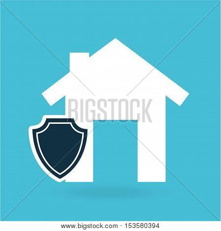 concept insurance house money security design vector illustration