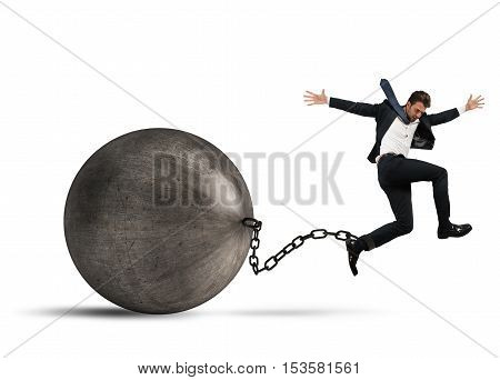 Man determined despite the weight of crisis